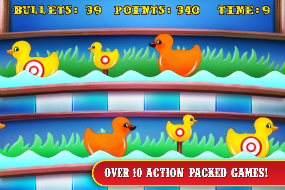 Screenshot Carnival Games for iPhone